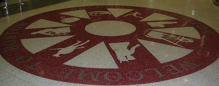 Portfolio Of Terrazzo Floor Designs Staley North Carolina
