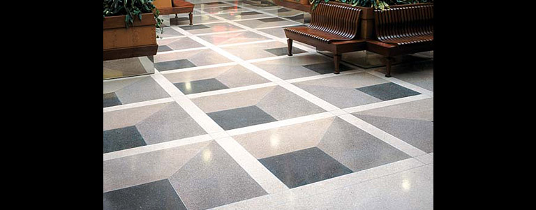 Portfolio of Terrazzo Floor Designs - Staley, North Carolina